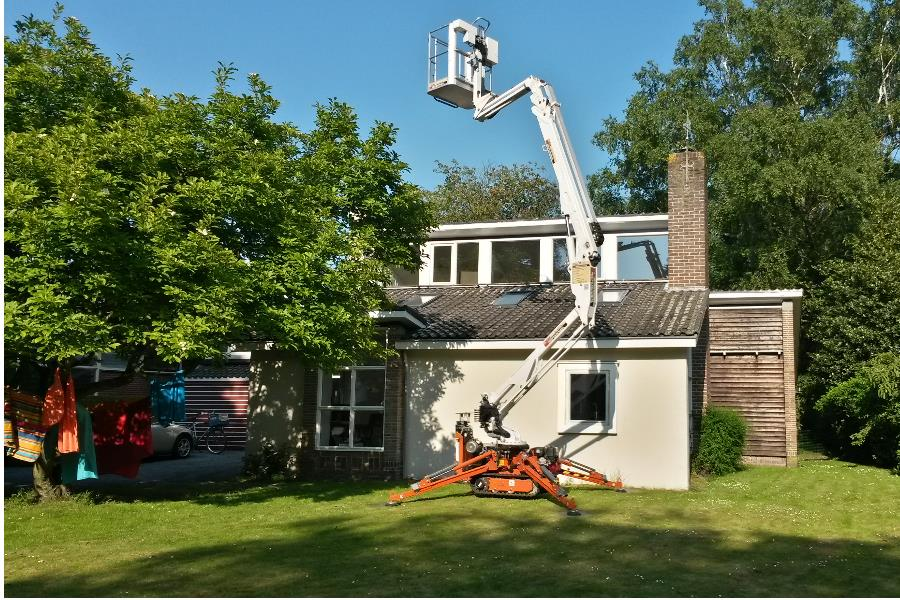 Groningen Schilders hoogwerker